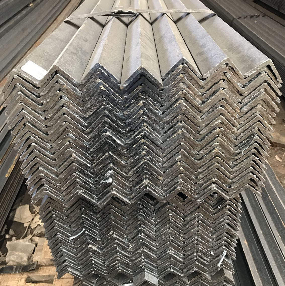 Q235B black hot-dip galvanized angle steel carbon steel angle steel