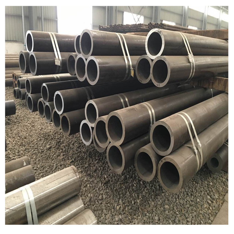 Liaocheng Tengrun Steel produces seamless steel pipes for custom machining for many years