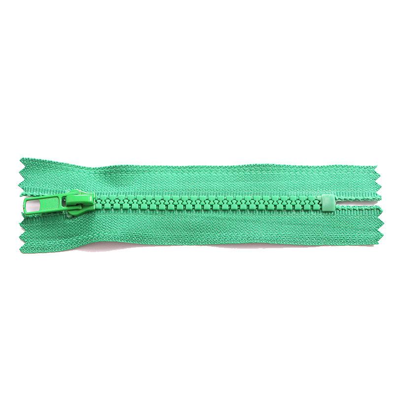 Resin zipper No. 3, No. 5, No. 8 Open end and closed end Do not close the end pocket zipper