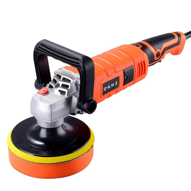 JZNL Car polishing machine electric small household floor scratch repair seal polishing car beauty t