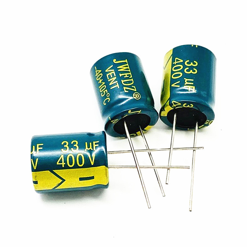 JWFDZ 400V33UF 13X20 switching power adapter commonly used electrolytic capacitor 33UF400V 10X18 fas