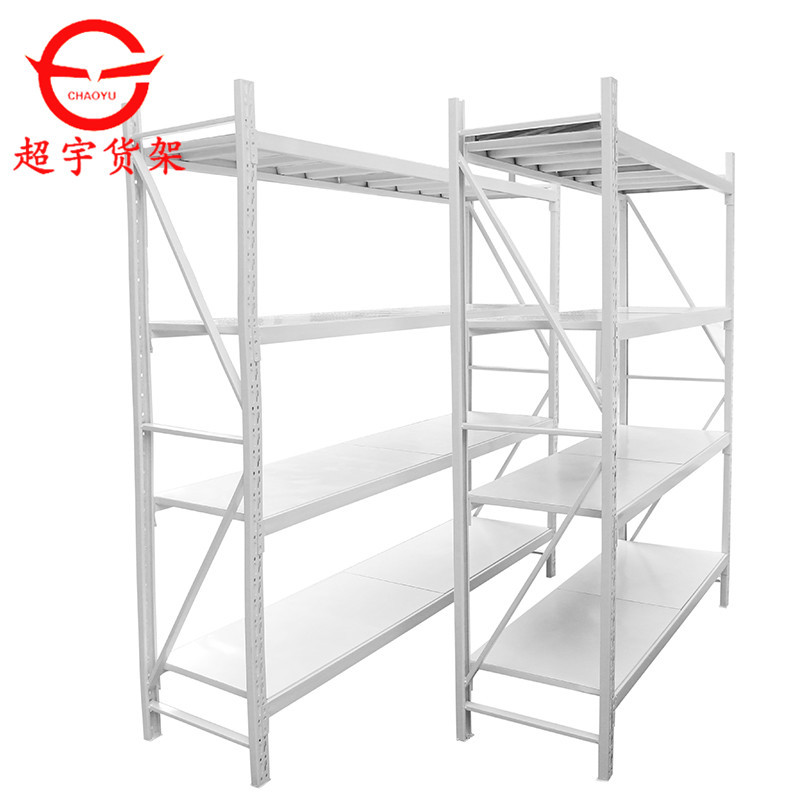 CHAOYU Household storage light shelves, beam type metal iron shelves, stainless steel storage shelve