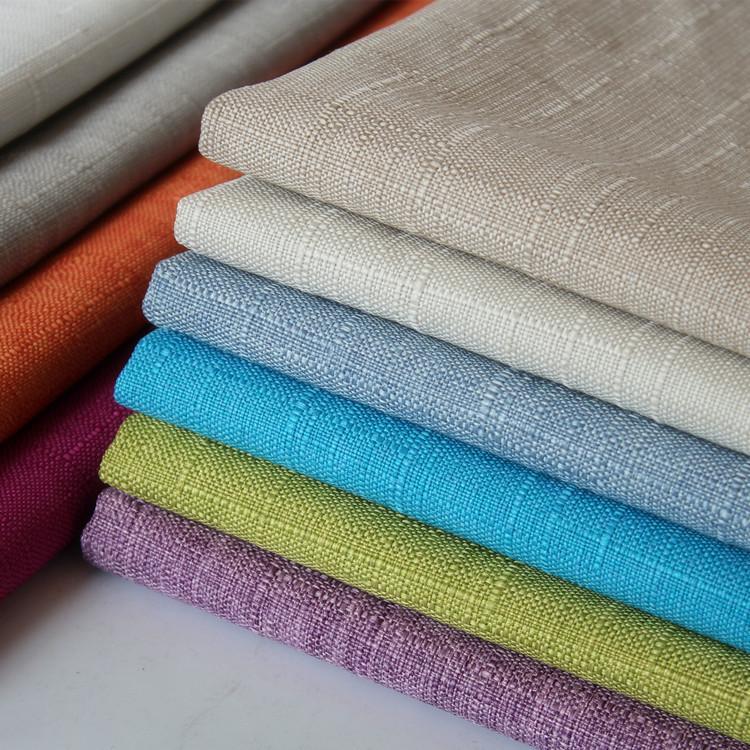 HAILONG Cushion slub cotton and linen cloth wholesale, pillow hard bag decoration cloth, linen cloth