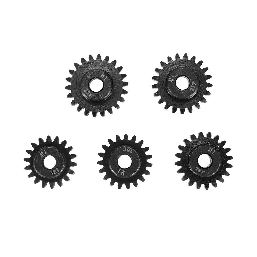 Surpass-hobby M1 motor gear 11-22T 5.0 hole gear 1/8 model car gear motor gear metal reduction gear