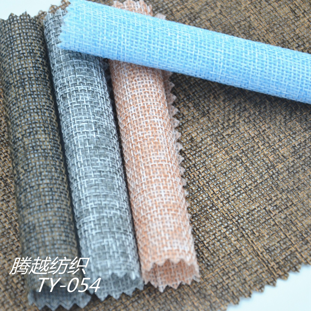 1000d new European standard odorless linen imitation PE coated dirty clothes basket indoor trash can