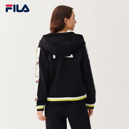 FILA Sweater (Áo nỉ chui đầu) x MIHARA Fila Áo len có mũ dành cho phụ nữ Mùa xuân năm 2021 Thời tran