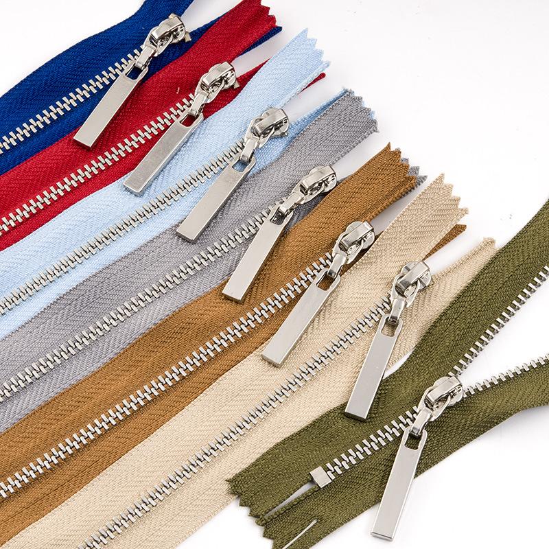 VAB No. 3 metal zipper clothing apparel accessories zipper copper tooth closed tail 3# zipper protec