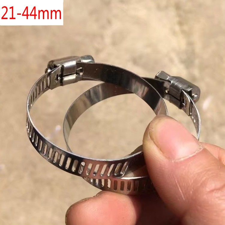 Small American style hose clamp 32-44mm Hoop width 8mm Hoop clamp clamp clamp clamp pipe clamp pipe