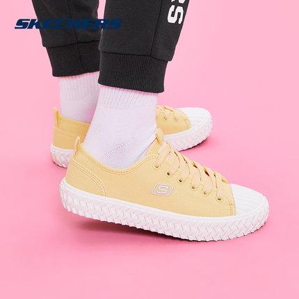 Skechers giày vải Giày vải Skechers Skech low cut nhẹ đơn giản retro cổ điển giản dị thoải mái cho n