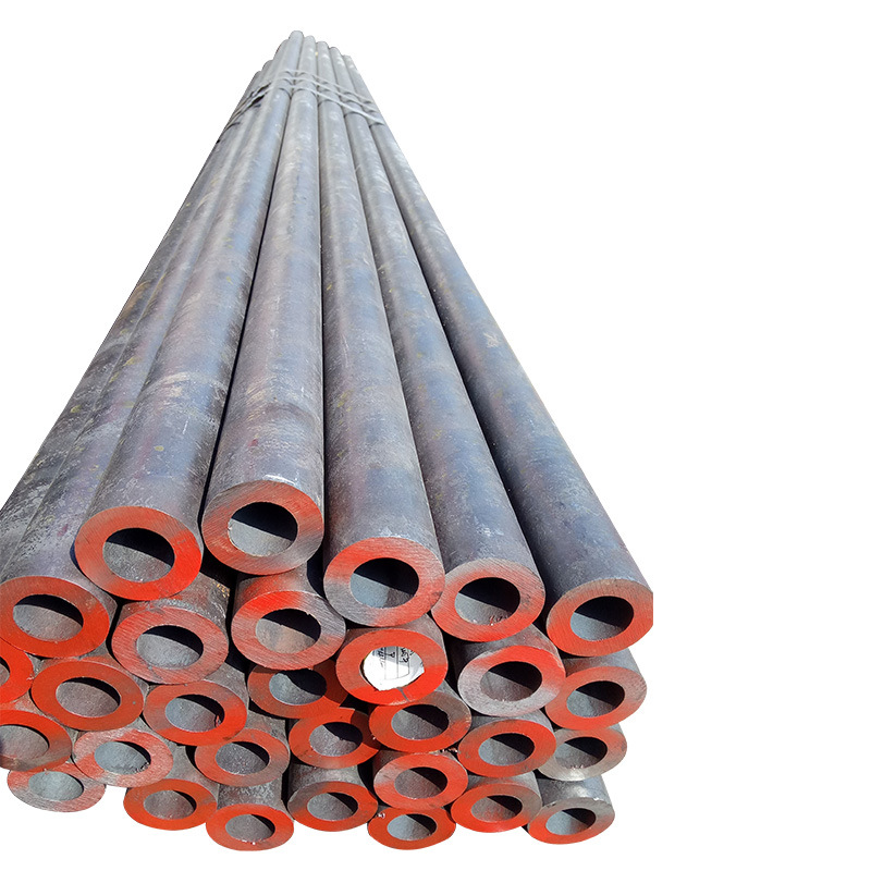 20# thick-walled seamless steel pipe cutting to length for machining 45# large-diameter seamless ste