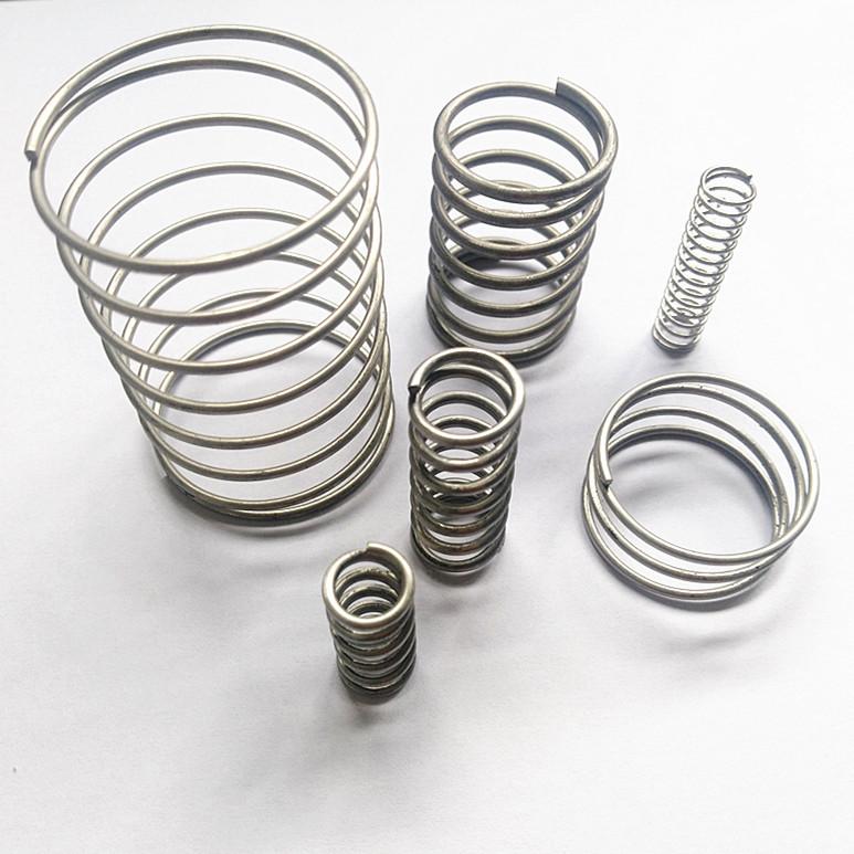Pressure spring 0.06-3.5 pressure springs of various wire diameters