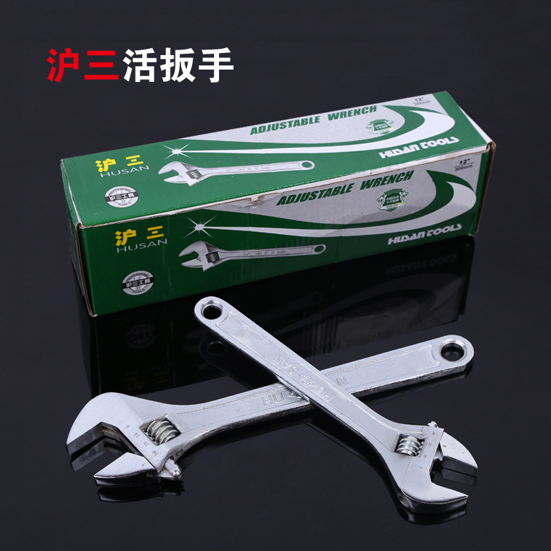 DICHUANG Adjustable wrench steel forging with scale adjustable wrench Husan quick opening hardware t