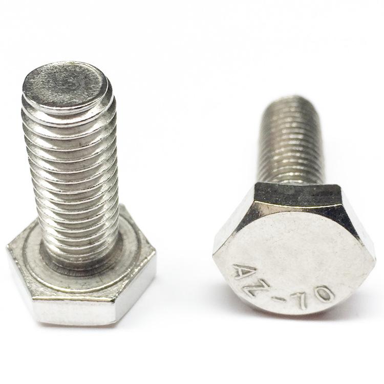SANCHEN 201 Stainless Steel Hexagon Bolt M8M10M12 Hexagon Screw Screw Screw GB30