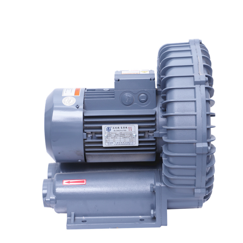 All wind RB-055 ring blower 3.7KW aluminum alloy drying pipe high pressure fan