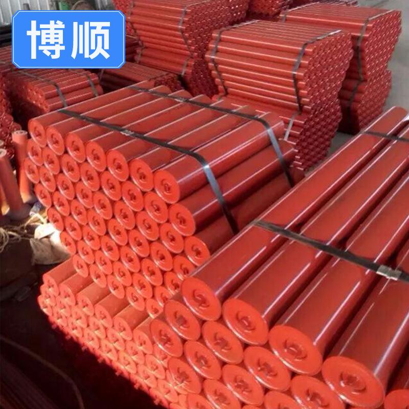 BOSHUN Belt conveyor buffer rollers Triple rollers Belt conveyor rollers