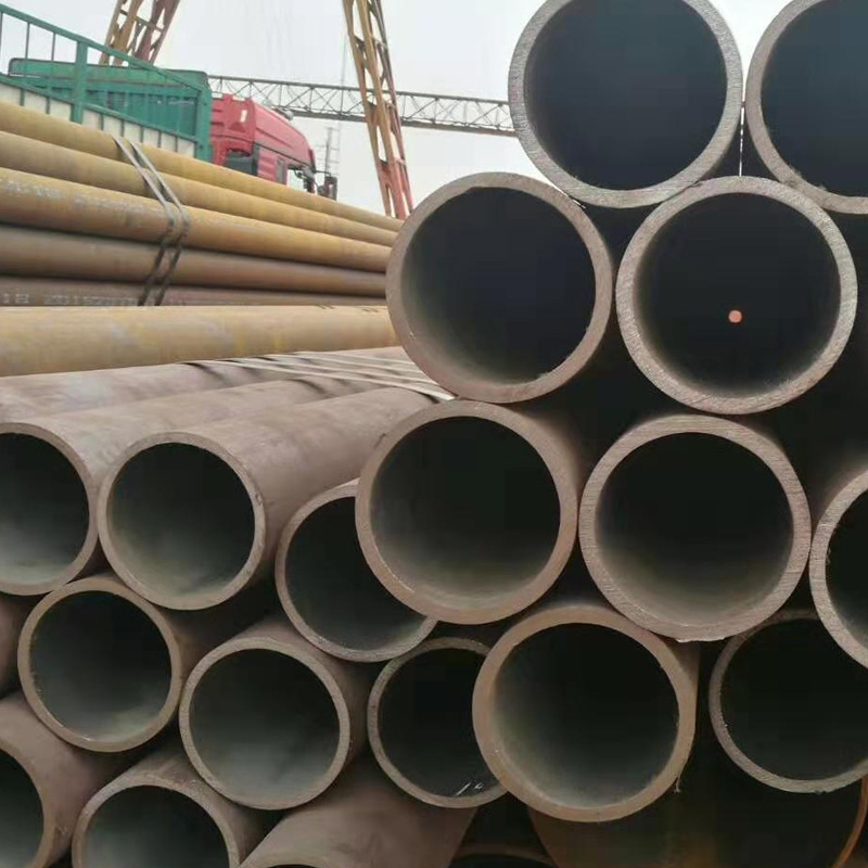 Galvanized seamless pipe 20#-Q345B seamless round pipe