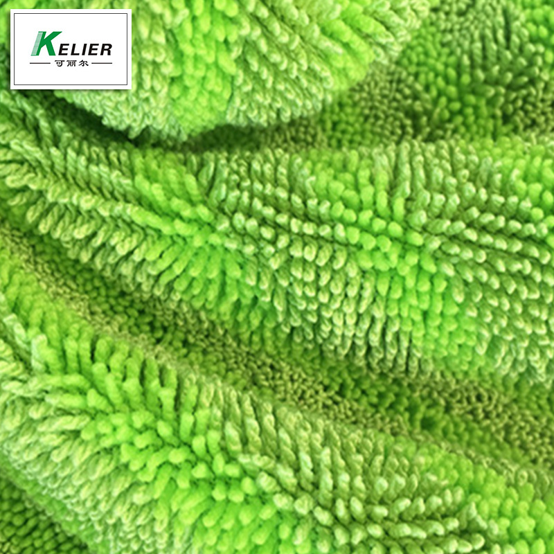 KELIER Warp knitted microfiber polyester nylon twisted fabric small braid fabric factory direct abso