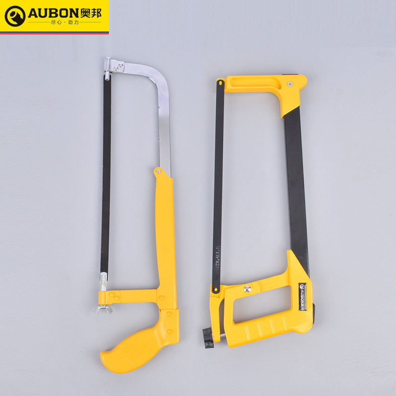 AUBON Saw frame Aobang telescopic movable hacksaw frame saw 12 inch/300mm square tube aluminum alloy