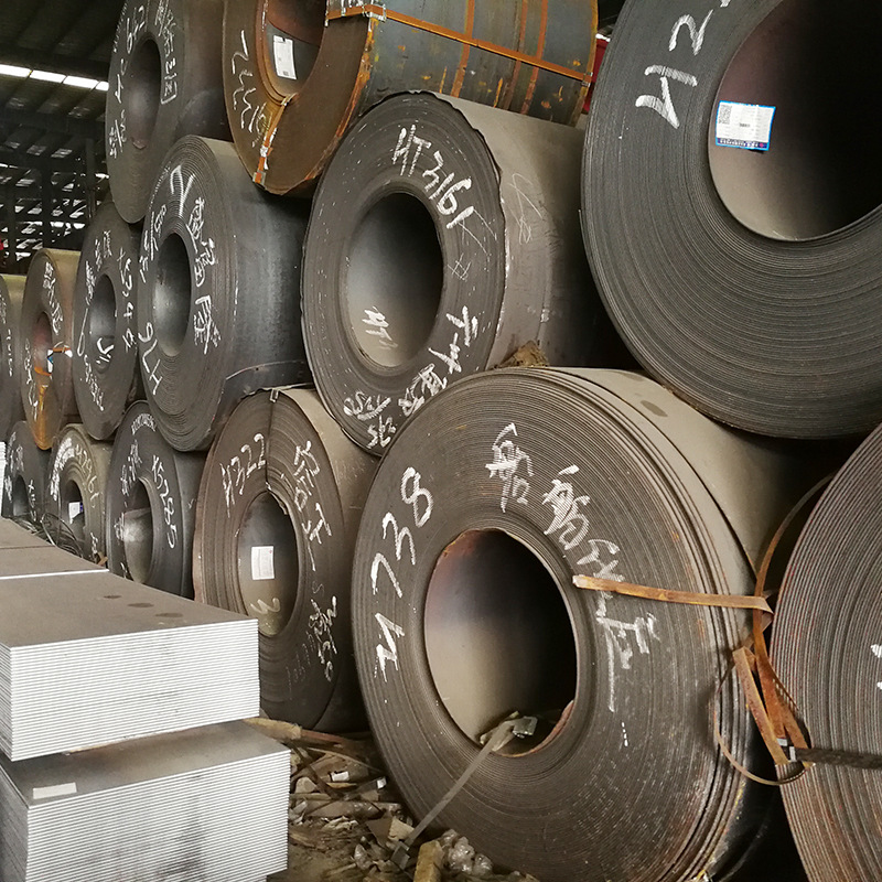 Hot-rolled coils open flat GB Q235B hot-rolled steel coils special hot coils for ships, automobiles,