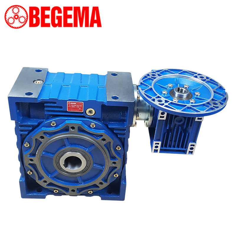 Baogema worm gear reducer NMRV110-1/20-132B14 cast iron reducer