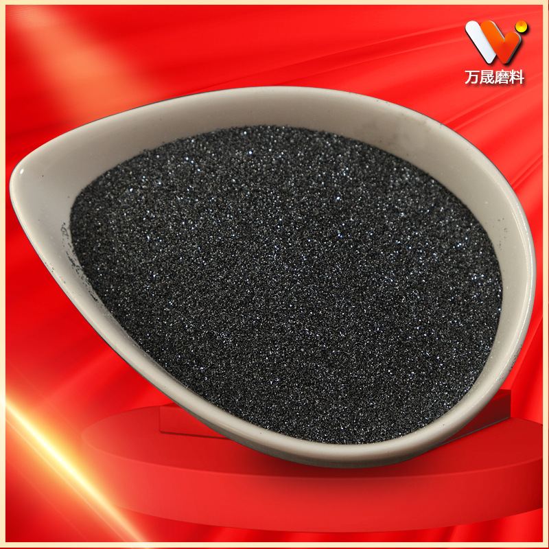 24 mesh 36 mesh 60 mesh black silicon carbide refractory material Black emery abrasive particles