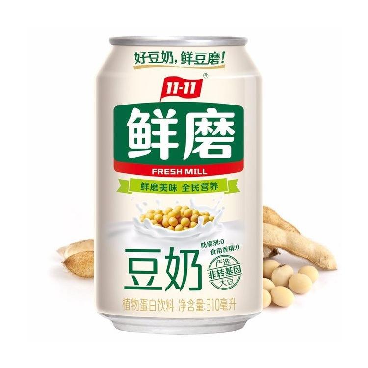 11-11 Freshly ground soy milk 310ml*24 cans