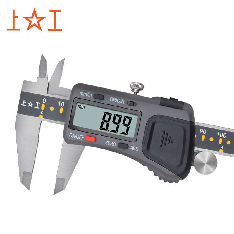 Shanghai Shanggong high-precision electronic digital display vernier caliper stainless steel caliper