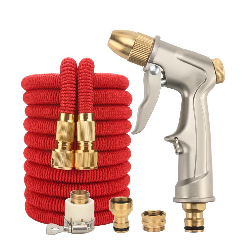 RONGHE High pressure car wash water gun head set hose car brush tool multifunctional gardening water