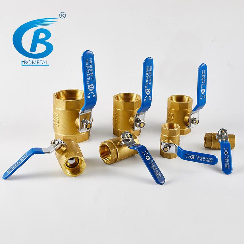 Yuhuan Chengbo Valve Brass Manual Internal Thread 101 Ball Valve