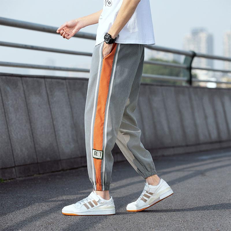 Sweatpants tide brand overalls men's loose-fitting casual long pants men's trendy sports wild 2021