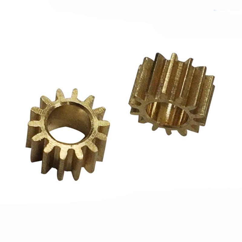 YUANQING Car charger bracket gear, brass gear, copper gear processing