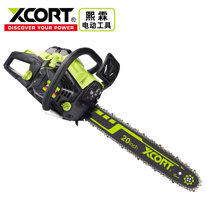 XCORT Xilin Motor Saw 20 Inch New Logging Chain Saw High Power Gasoline Saw Cross-border Tree Cutter