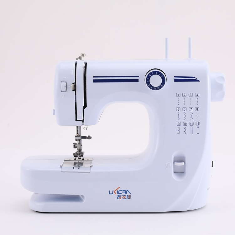 YOULIJIA UFR-608A Double Needle Sewing Machine Household Multifunctional Electric Desktop Sewing Mac