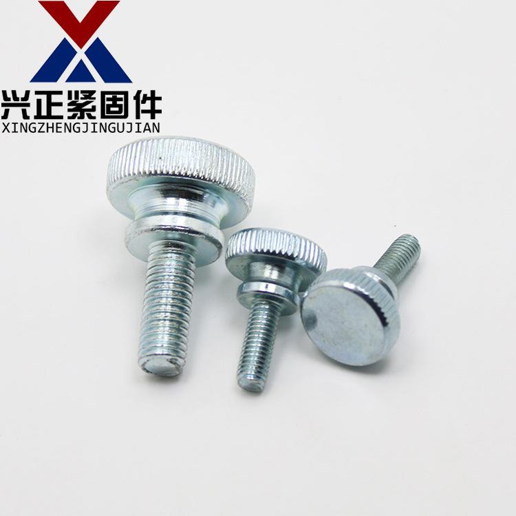 XINGZHENG GB834 high head knurled hand screw step double hand screw adjustment screw M3M4M5M6M8M10