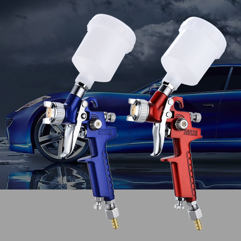 RONGQI Auto furniture repair gun small spray gun manual H2000 HVLP pneumatic tool high atomization