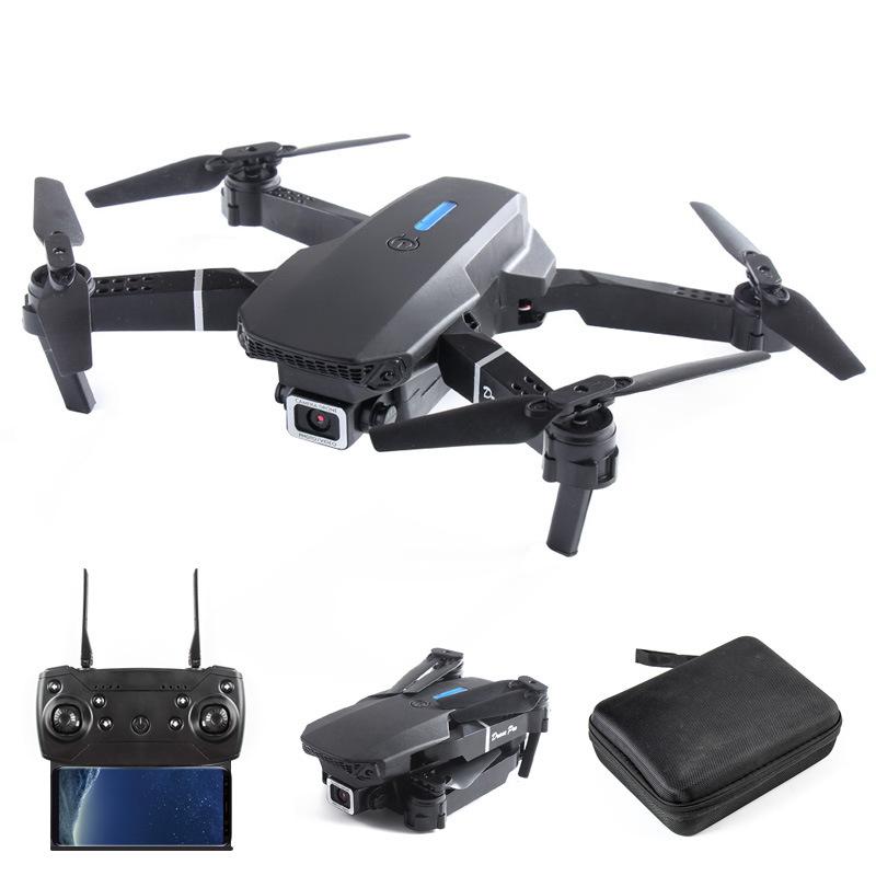 Folding mini e88 drone cross-border remote control aircraft quadcopter children's toy aerial photog