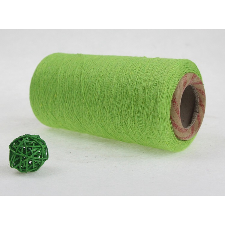 ZIMING 8~16 apple green recycled cotton yarn