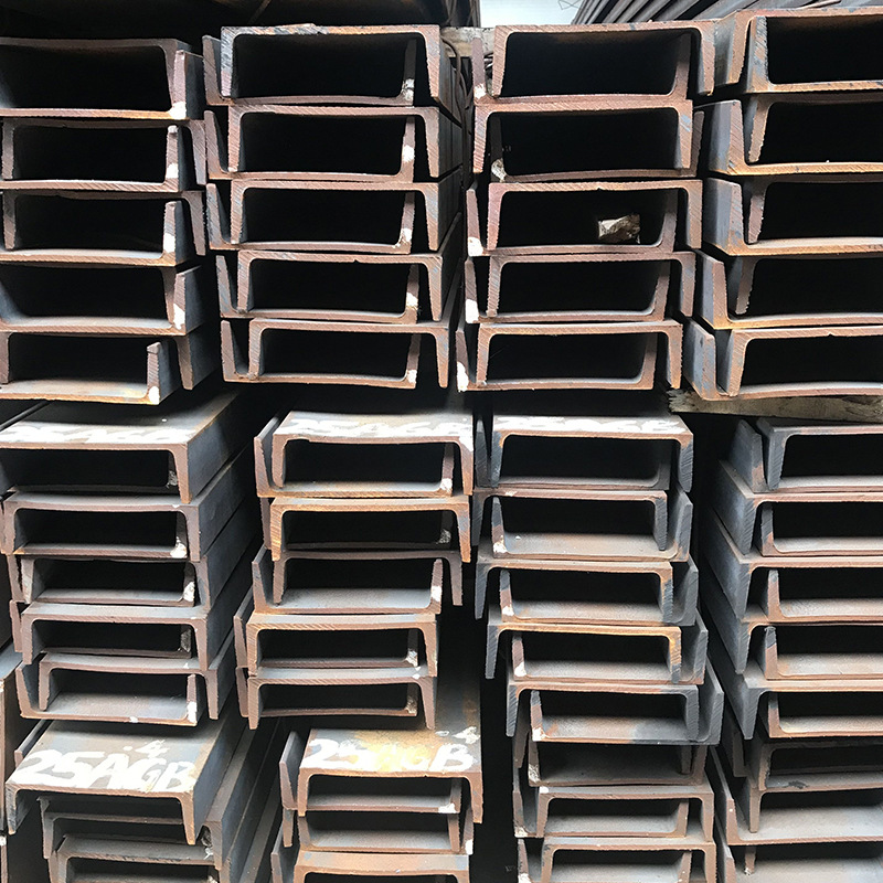 Channel Steel 10# National Standard Q235B Galvanized Channel Steel Hot-rolled U-shaped Groove 8#