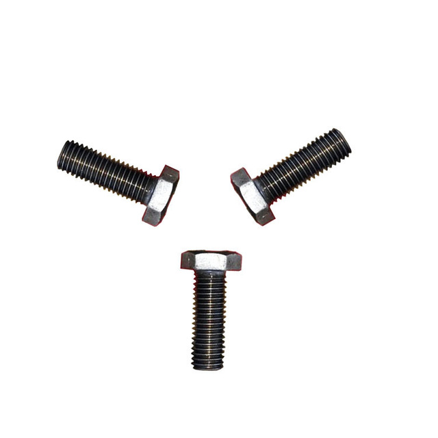 Color plated 4.8 grade 8.8 color plated zinc 8x10-200 16x60 hexagonal screw GB30 bolt