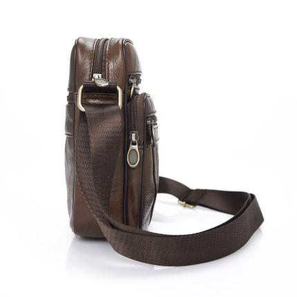Túi xách nam đeo vai nhỏ kiểu dáng cổ điển của nam giới .