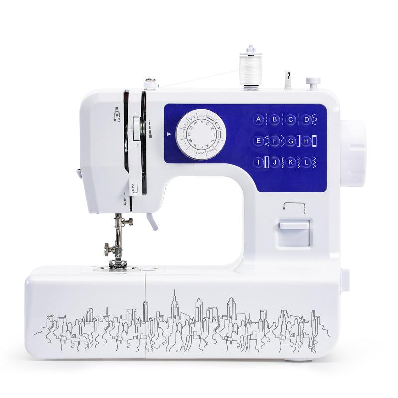 KINGONE JG1602 household sewing machine 12 stitches cross-border electric micro mini sewing machine