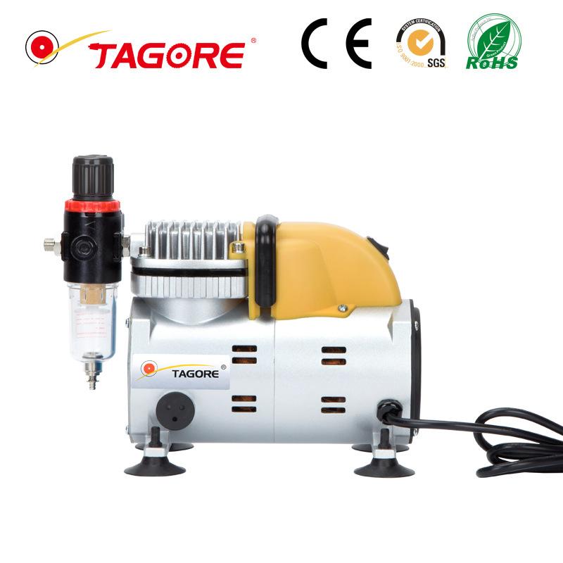 TAOGRE Micro air pump Oil-free silent air compressor Portable air compressor Small air pump 220V