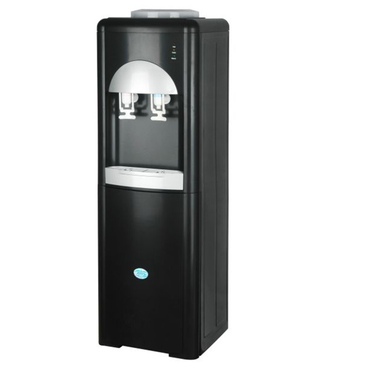 AOFUK Water dispenser vertical cold and hot household ice warm mini double door new