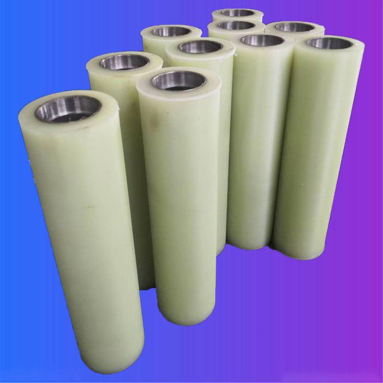 Polyurethane rubber roller PU rubber roller Pressure resistant rubber roller Steel hydropower bag ma