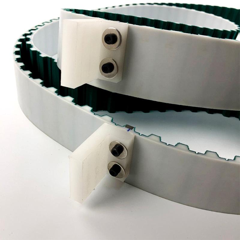 LKBELT Polyurethane timing belt plus baffle block Industrial belt special processing custom PU timin