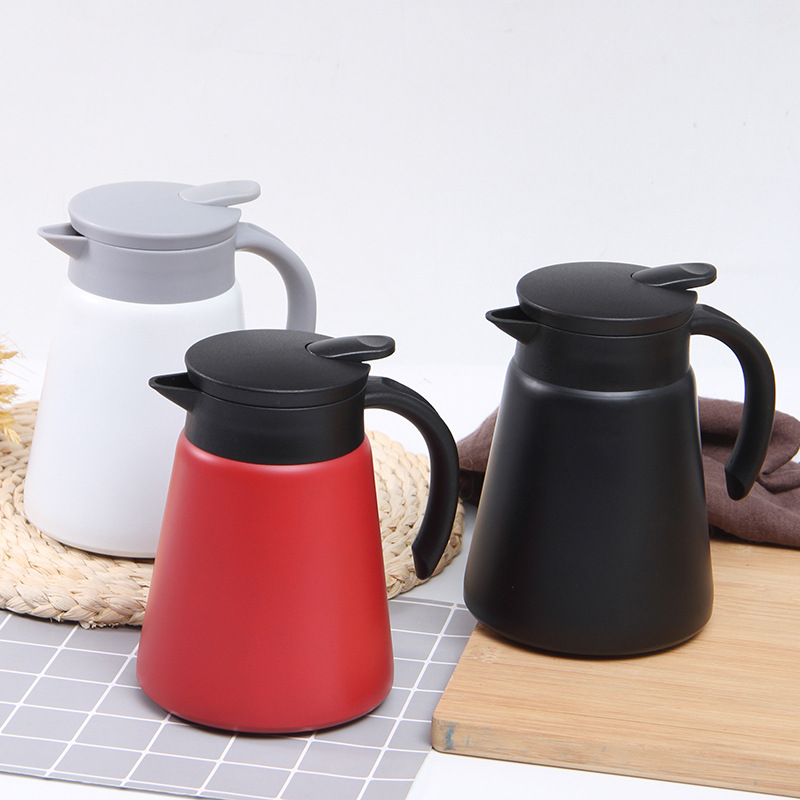 Mini Stainless Steel Coffee Pot, Portable Thermos, Business Gift Kettle, Office Thermal Pot