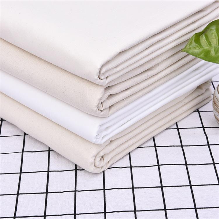 XH White grey cloth Polyester-cotton blended loincloth Shirt fabric TC65/35 133*94 Plain weave popli