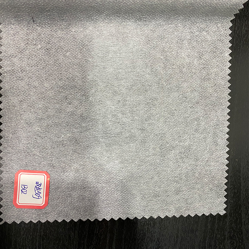 WANHE Double point 40g paper lining non-woven lining cloth single-sided rubberized clothing accessor