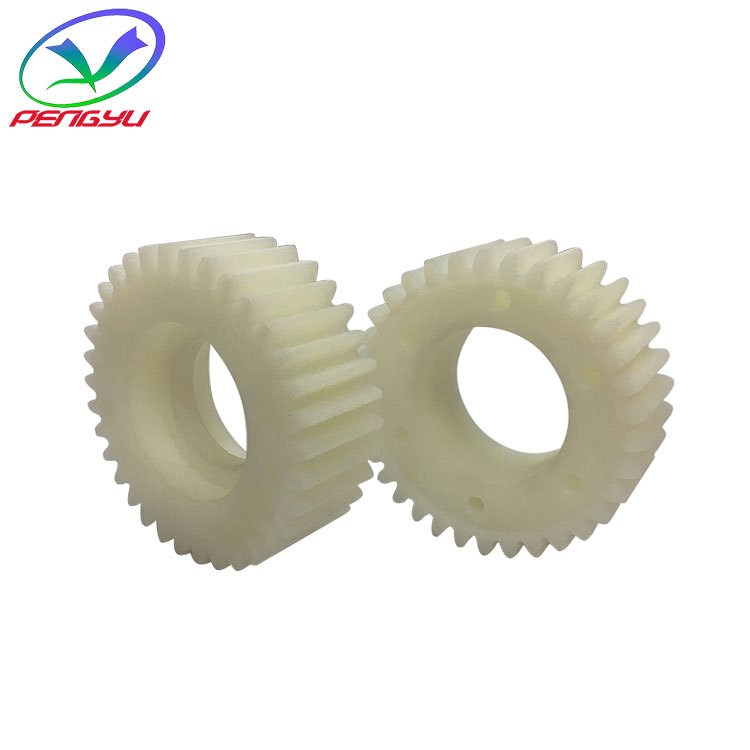 Jingming electroplating line equipment accessories nylon gear UPE material driving and driven crane