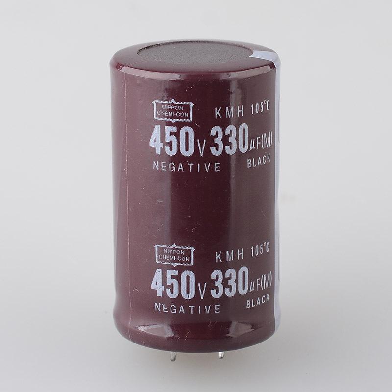 Capacitance Aluminum electrolytic capacitor 450v330uf Volume 30*35 450v 330uf